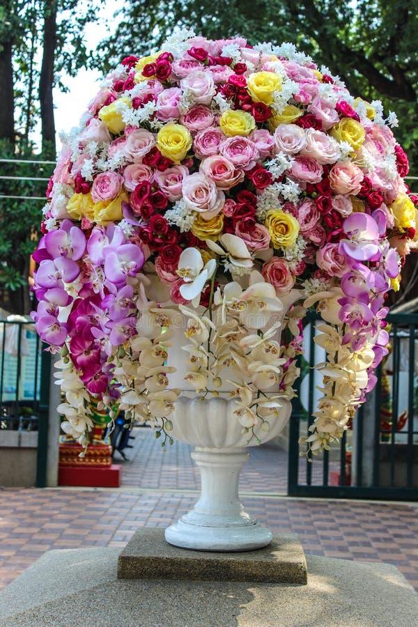 Large Flower Vase Stock Image Image Of Ornament Green 40682091