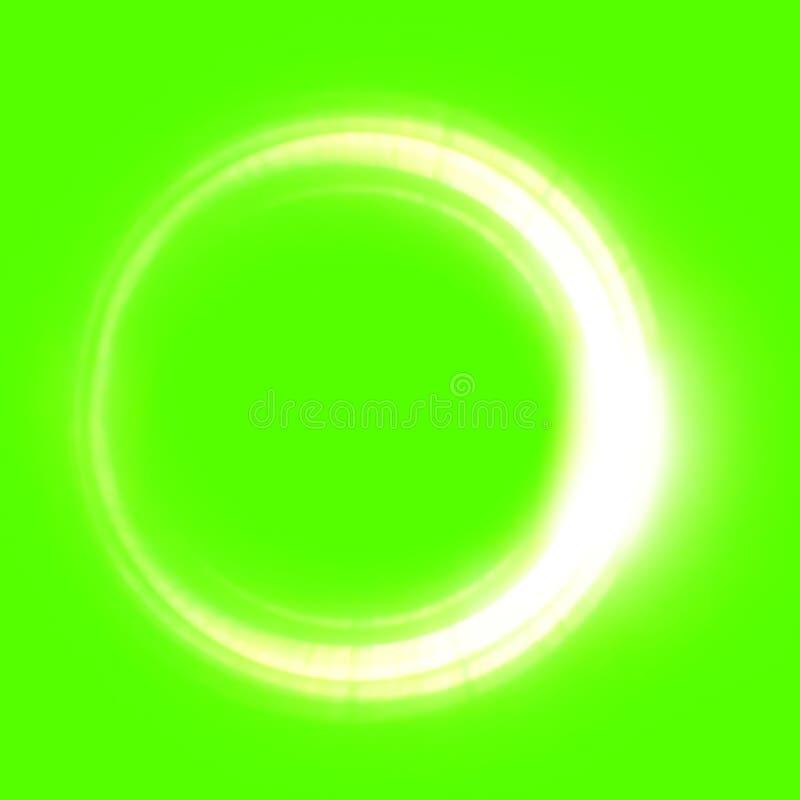 Large Green Screen Elements Solar Eclipse vector illustration