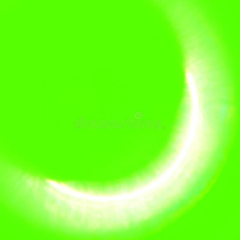 Large Green Screen Elements Solar Eclipse stock illustration
