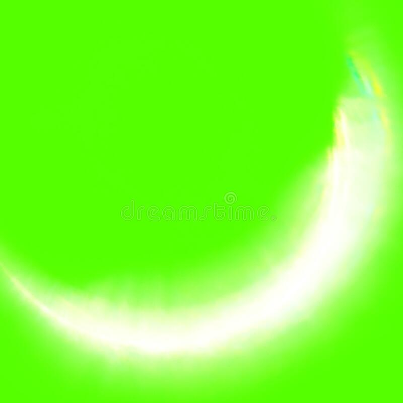 Large Green Screen Elements Solar Eclipse royalty free illustration