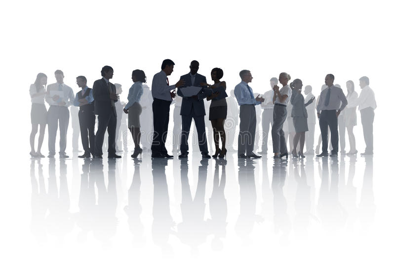 Download Large Group Of Diverse Business People Meeting Stock Image - Image: 37443273