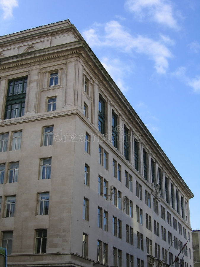 Free Large Historic Building In Liverpool Stock Photos - 471633