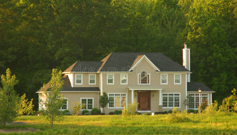 Large Home Stock Image