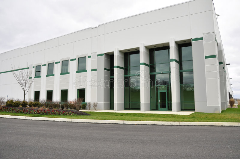 Large industrial building stock photos