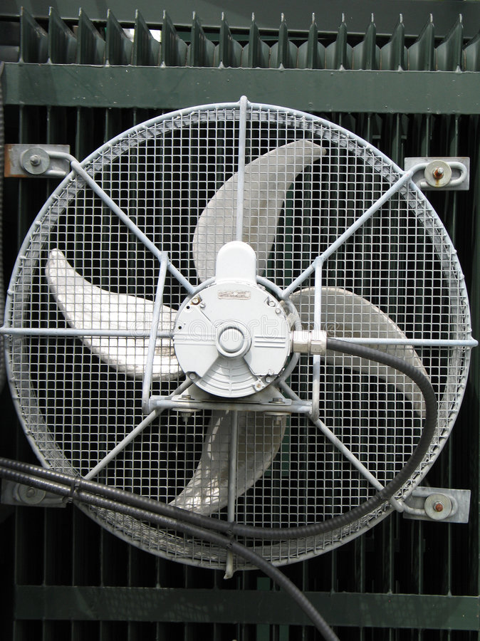 Free Large Industrial Fan Royalty Free Stock Images - 6643929