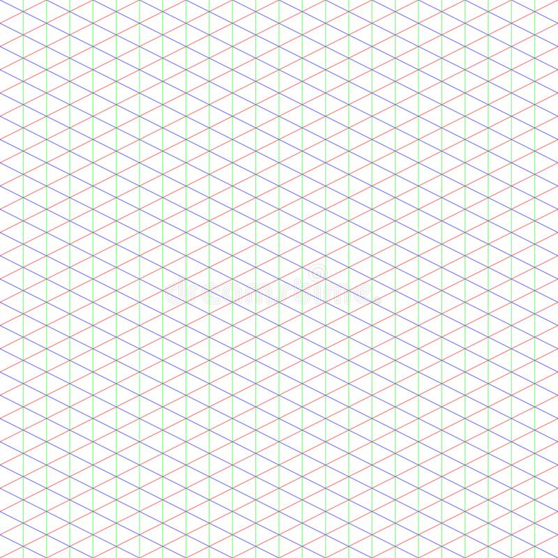 2:1 Large Isometric Grid for Pixel Art stock photography