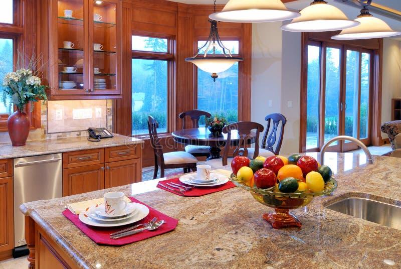 Large Kitchen royalty free stock photography