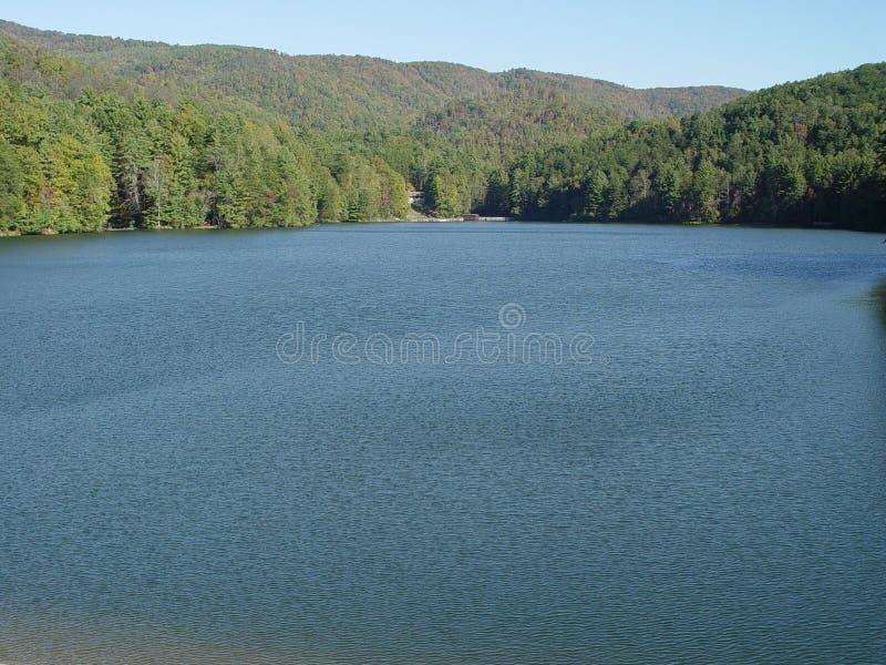 Large lake stock photo