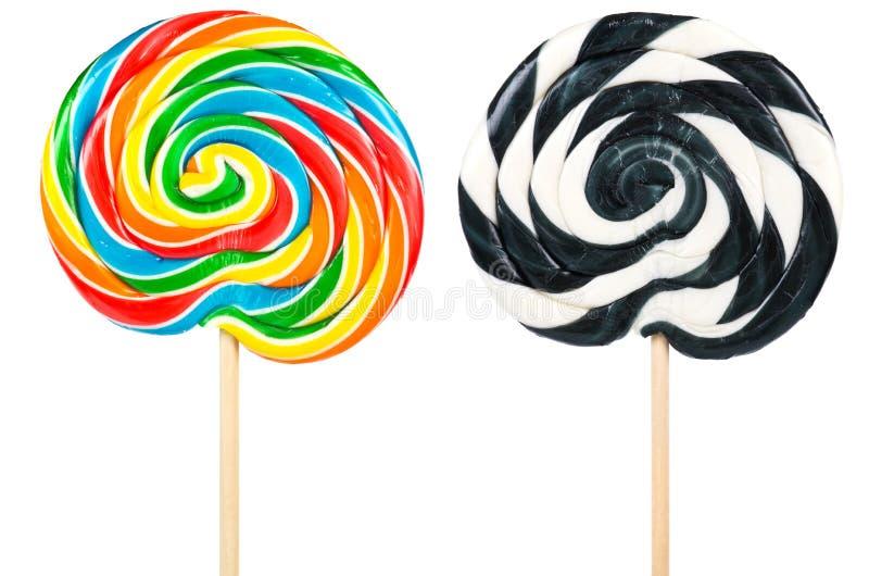 Download Large lollipops stock image. Image of sucker, spiral - 20284967