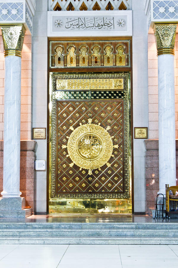 Download The Large Magestic Doors Of Masjid Nabawi Gold Doors Islamic Architecture Islam & The Large Magestic Doors Of Masjid Nabawi Gold Doors Islamic ...