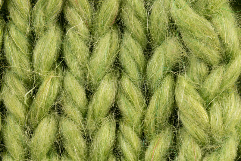 Large mating, large braids and loops green stock photography