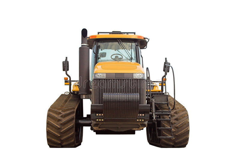 Large Modern Tractor - Front View