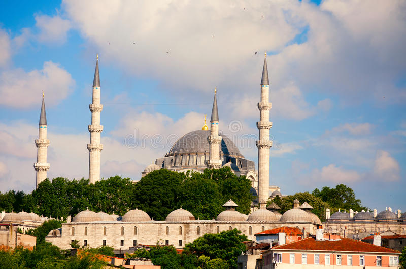 Download Large mosque, Istanbul stock photo. Image of cityscape - 21873738