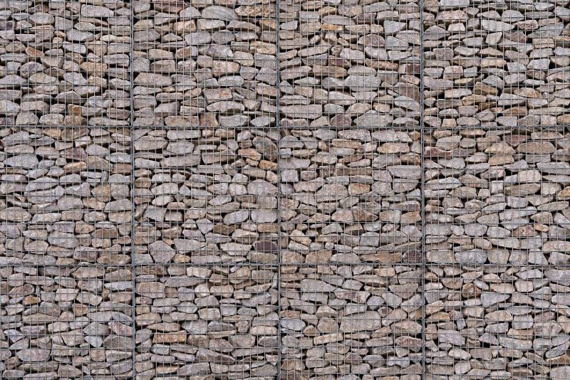 Very large, multi-storey gabion royalty free stock photos