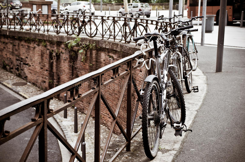 Download Bicycles stock photo. Image of city, france, cityscape - 30004174