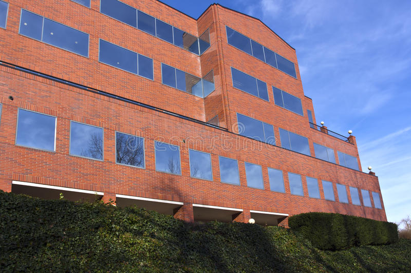 Large office building in Portland Oregon royalty free stock images