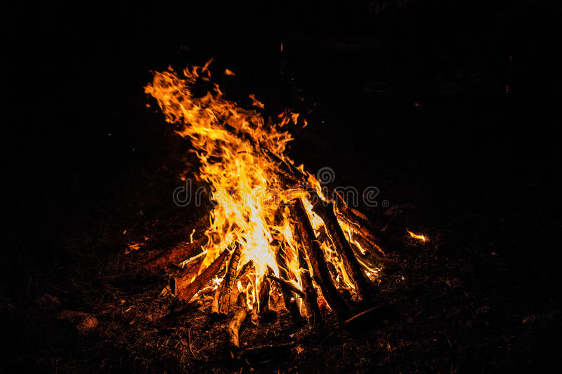 Download Large orange stock image. Image of illuminated, flammable - 83721397