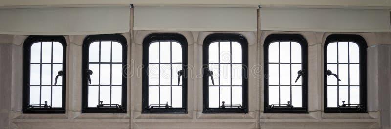 Large panoramic window royalty free stock photos