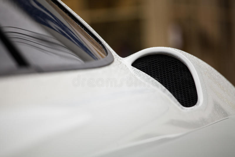 Large parts of the car stock photography