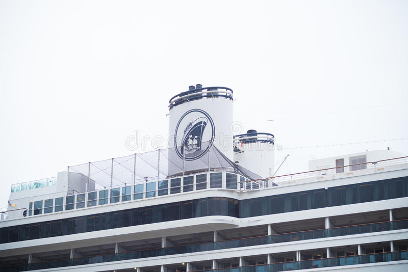 Large passenger ship royalty free stock image