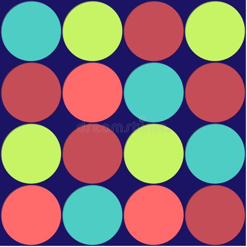 Download Large Polka Dots Background Stock Illustration - Image: 5729765