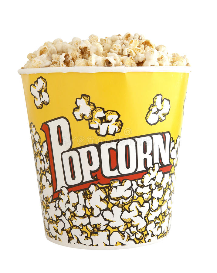 Download Large Popcorn Bucket Royalty Free Stock Images - Image: 10986619
