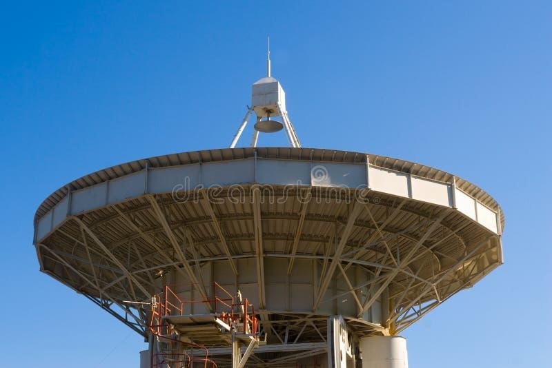 Large Radio Telescope Antennae Royalty Free Stock Images