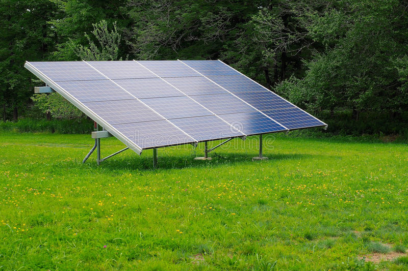 Download Large Residential Solar Panel Stock Photo   Image Of Sitting,  Power: 92842186