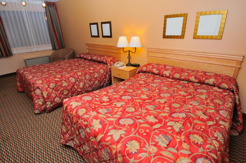 Download Large room with tidy beds stock photo. Image of accommodation - 20807966