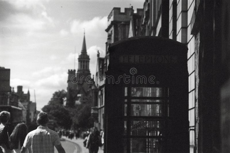 Large rue, Oxford photos stock