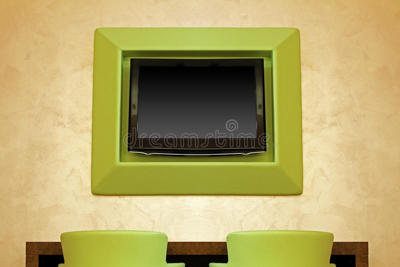 Download Large screen stock photo. Image of screen, display, table - 24488828