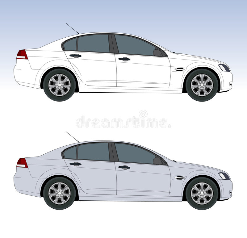 Free Large Sedan Royalty Free Stock Photos - 4521158