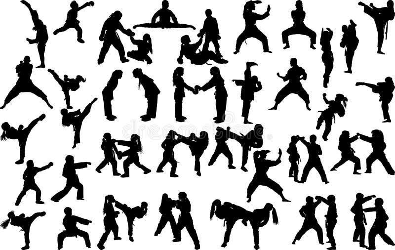 Karate Stances Stock Illustrations 6 Karate Stances Stock Illustrations Vectors Clipart Dreamstime