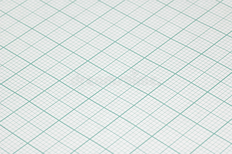 Large sheet graph paper. Closeup of graph paper used by economists, designers and architects stock photos