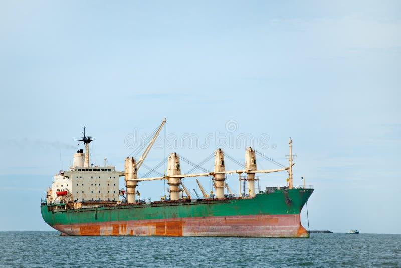 Large Ship On Sea Stock Photography