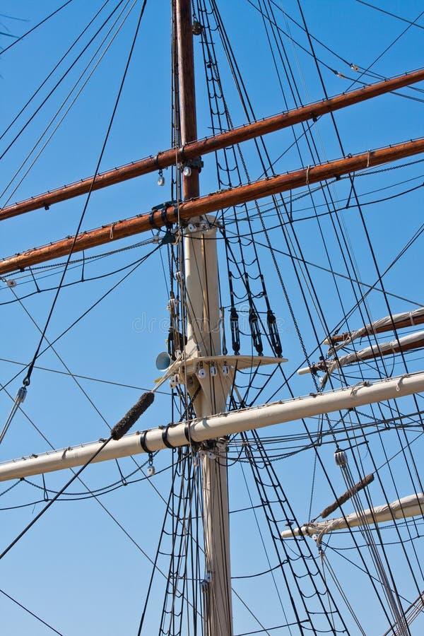 Free Large Ships Mast Royalty Free Stock Image - 16426986