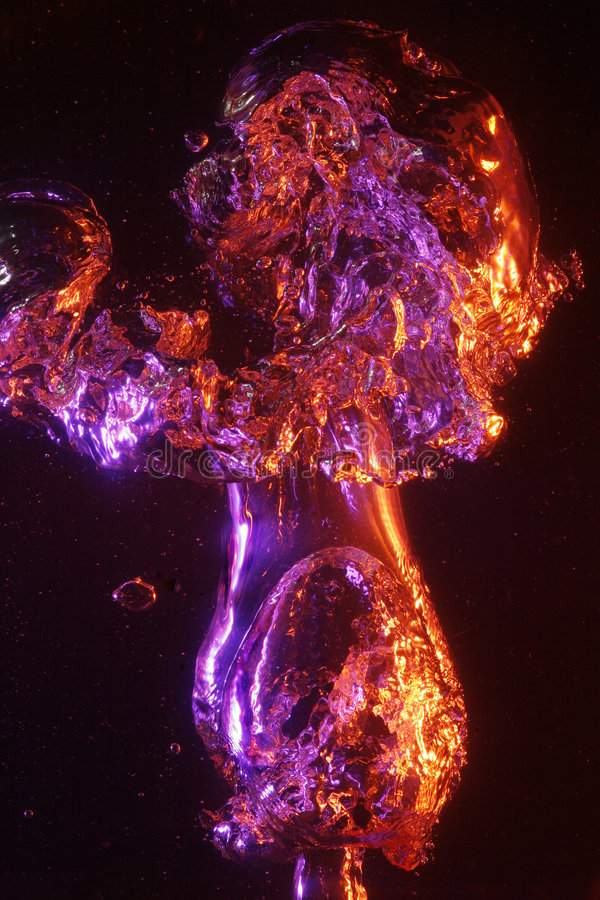 Download Large Sparkling Air Bubbles Stock Photo - Image: 5636764