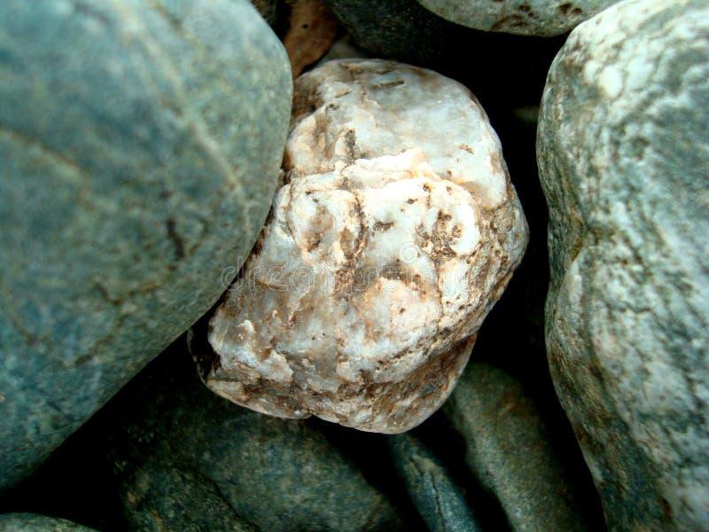 Large stone pebble background stock photography