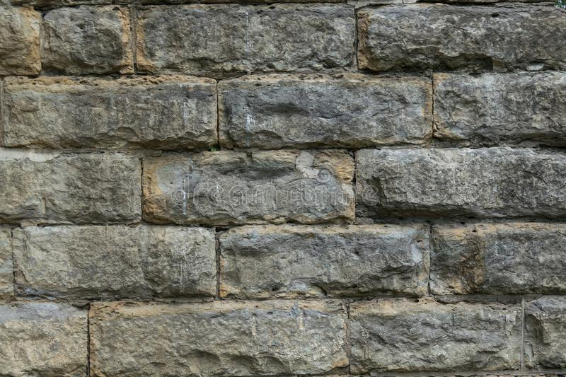 Large Stone Wall Texture royalty free stock images