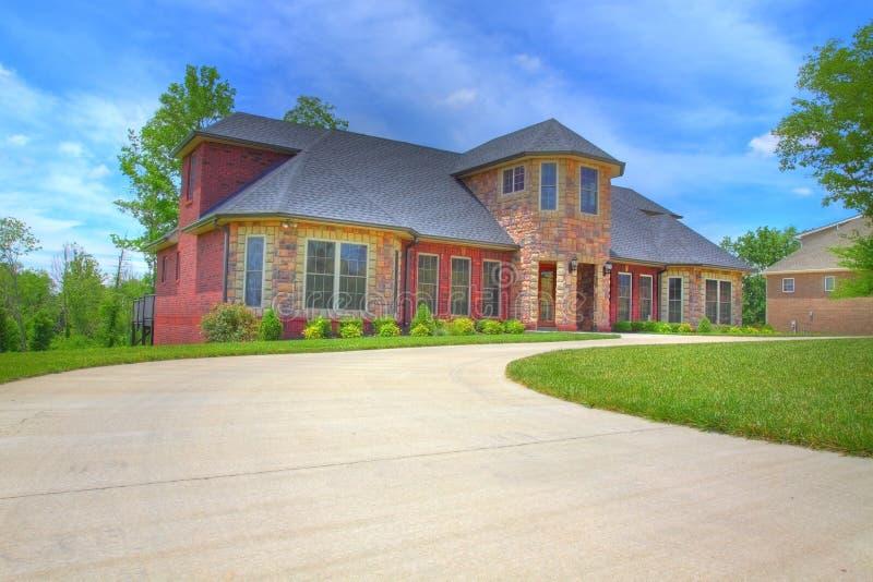 Download Large Suburban House stock photo. Image of neighborhood - 14684032