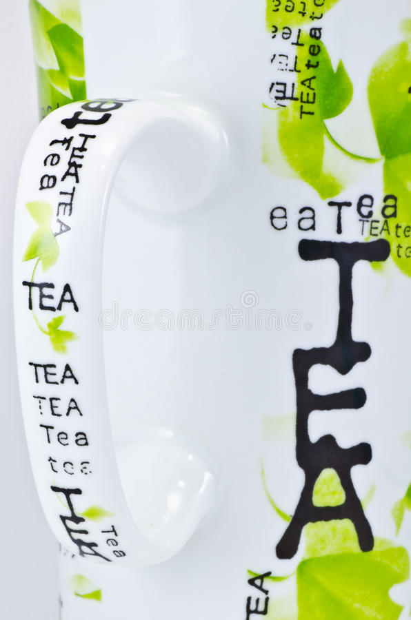 Large Tea Mug royalty free stock image