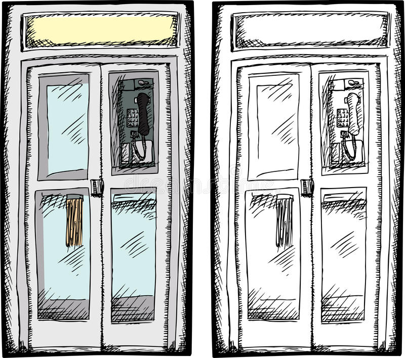 American Phone Booth Stock Illustrations – 9 American Phone