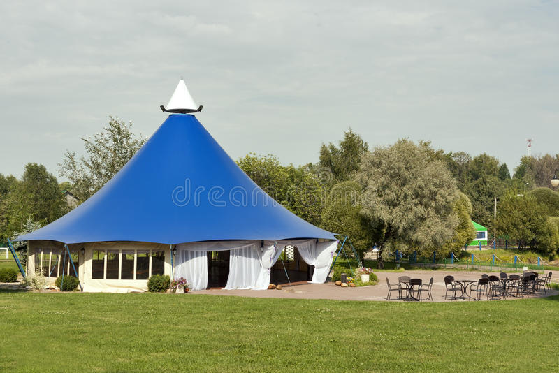 Download Large Tent For Celebrations Stock Image - Image of protection, formal: 21672341