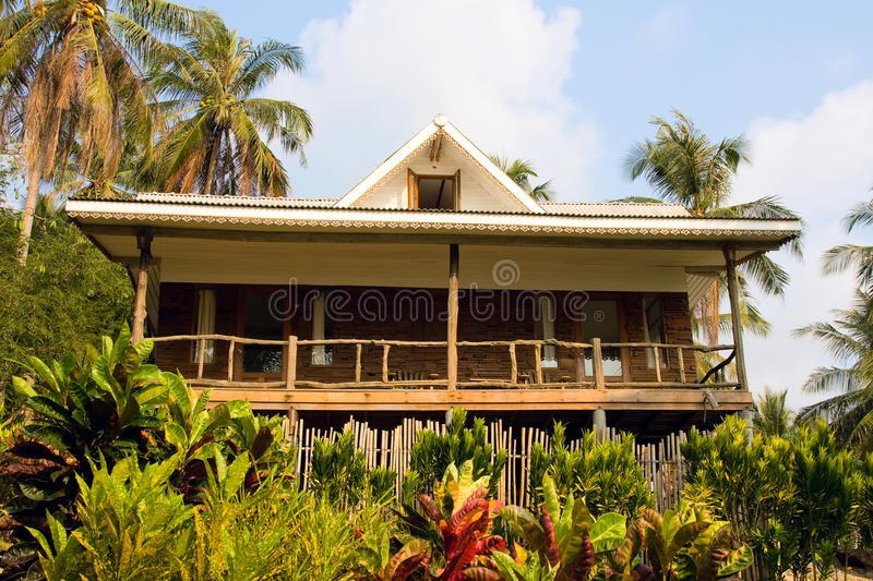 Download Large Tropical House In Thailand Stock Image - Image: 19487319
