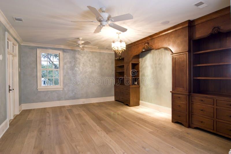 Large Unfurnished Luxury Bedroom Stock Photo