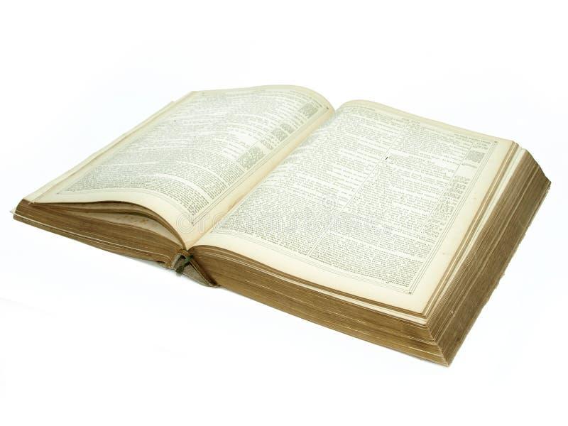 Download Large Vintage Open Bible Detail Stock Image - Image of worn, yellowish: 5827373