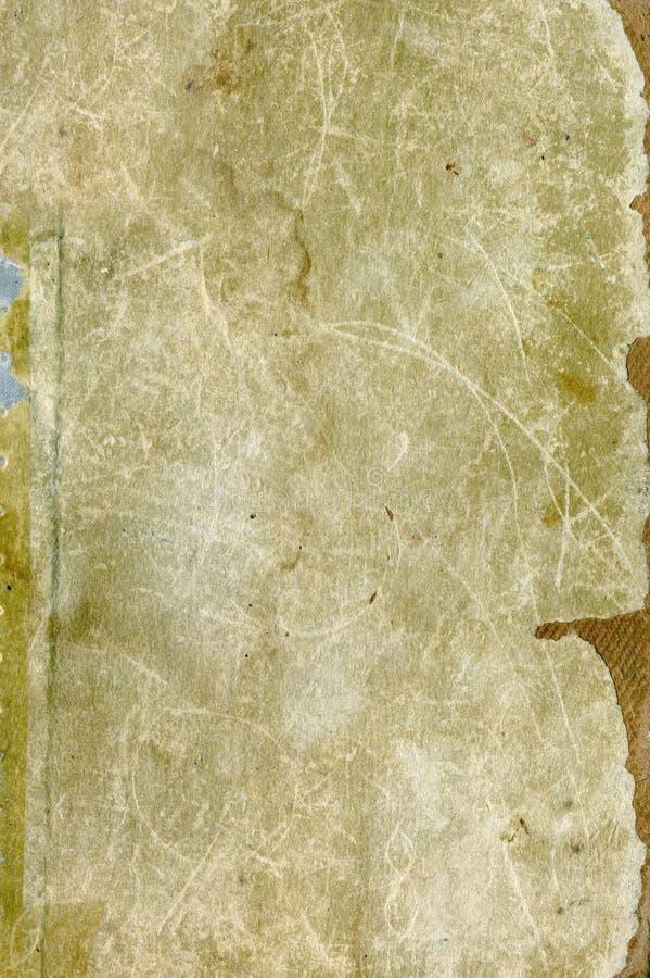 Large vintage paper. Large grunge textures and backgrounds stock illustration