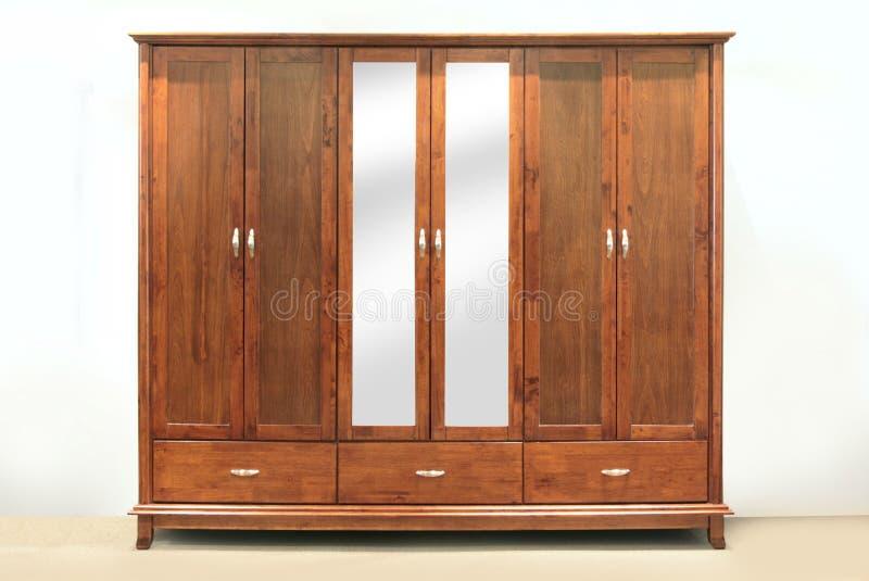 Large wardrobe stock photo
