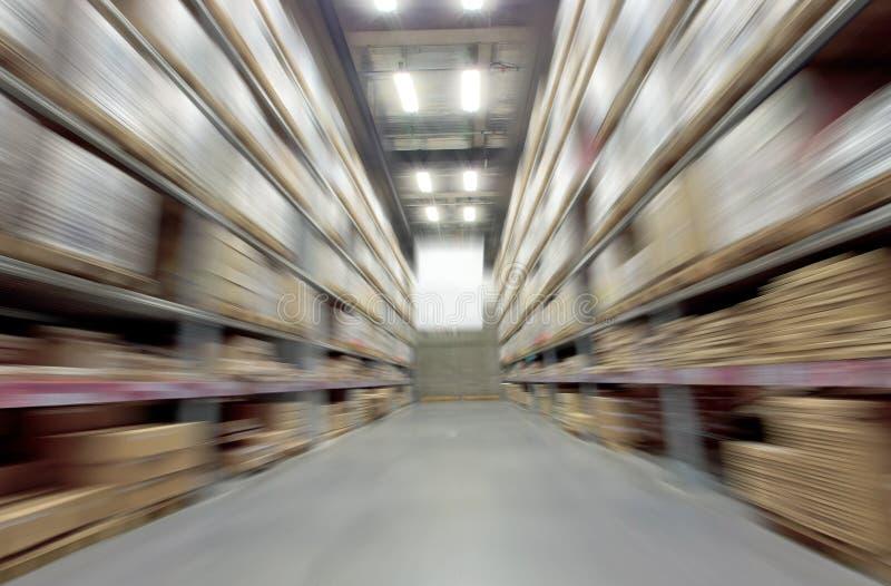 Large warehouse stock photography