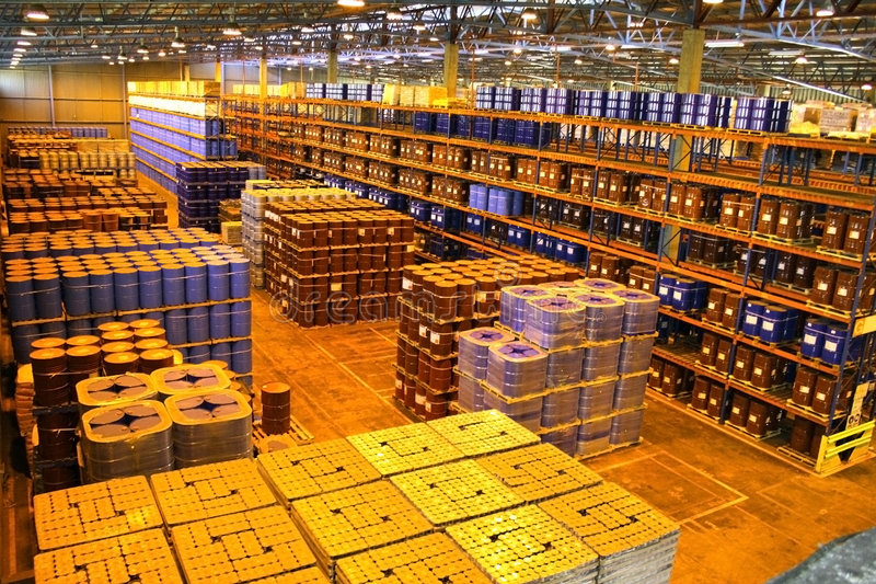 Download Large Warehouse Interior Stock Photo   Image: 2685970